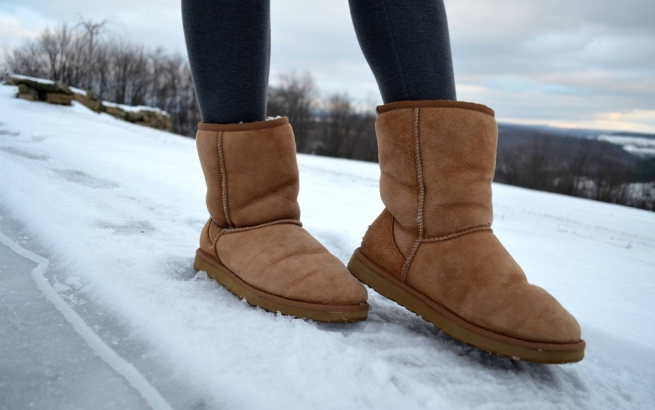 Фланель, войлок против скольжения зимней обуви