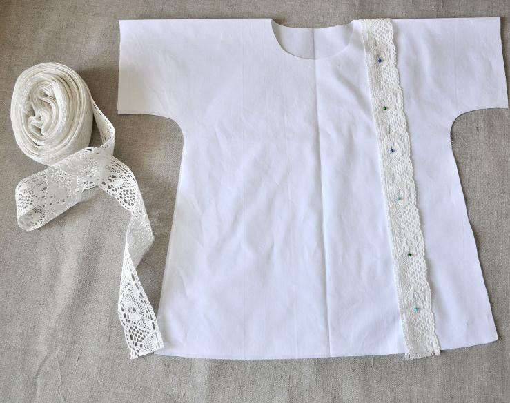rubashka-s-kruzhevami-kak-sshit Как сшить рубашку для ребенка