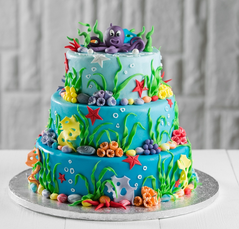 Торт на детский праздник своими руками фото 485