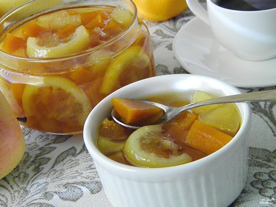 Тыквенно-лимонное варенье