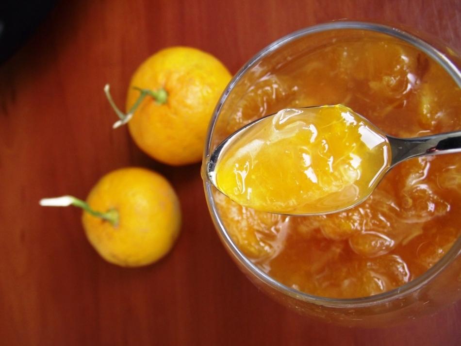 Варенье с апельсинами и имбирем