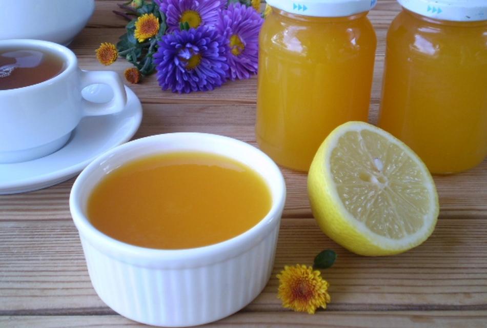 Жидкое тывенно-лимонное варенье а зиму