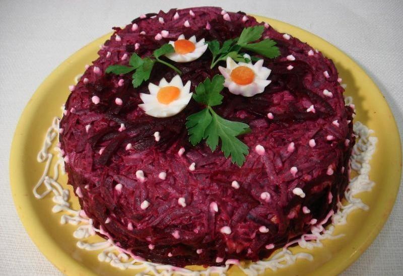 Рецепт торта из селедки на вафельных коржах