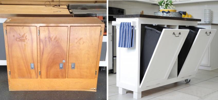 Шкафчик для мусора