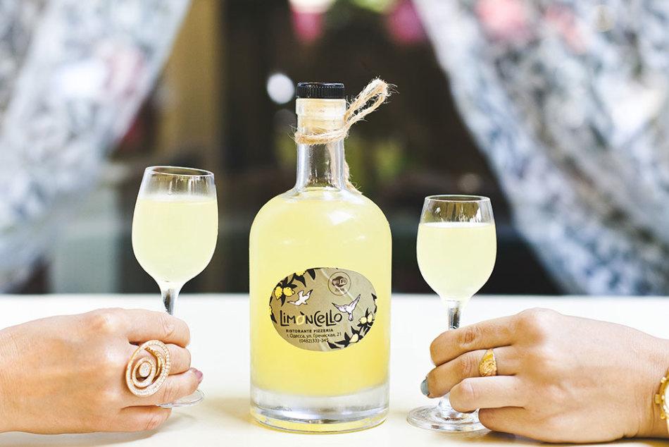 Правильное распитие лимончелло