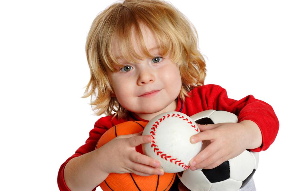 Мяч- лучший друг маленьких детей