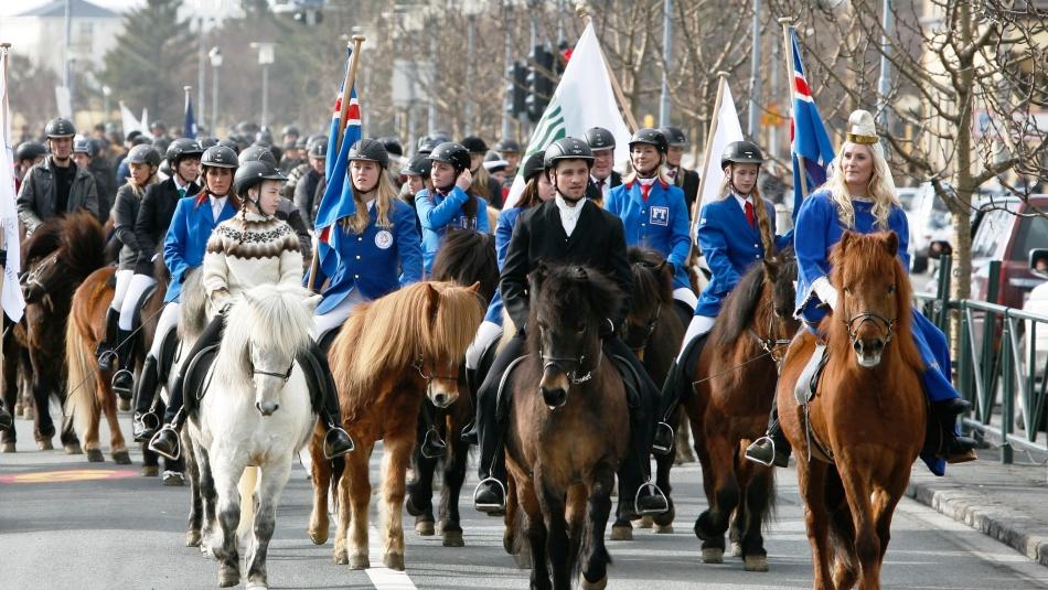 Жители исландии любят праздники и парады