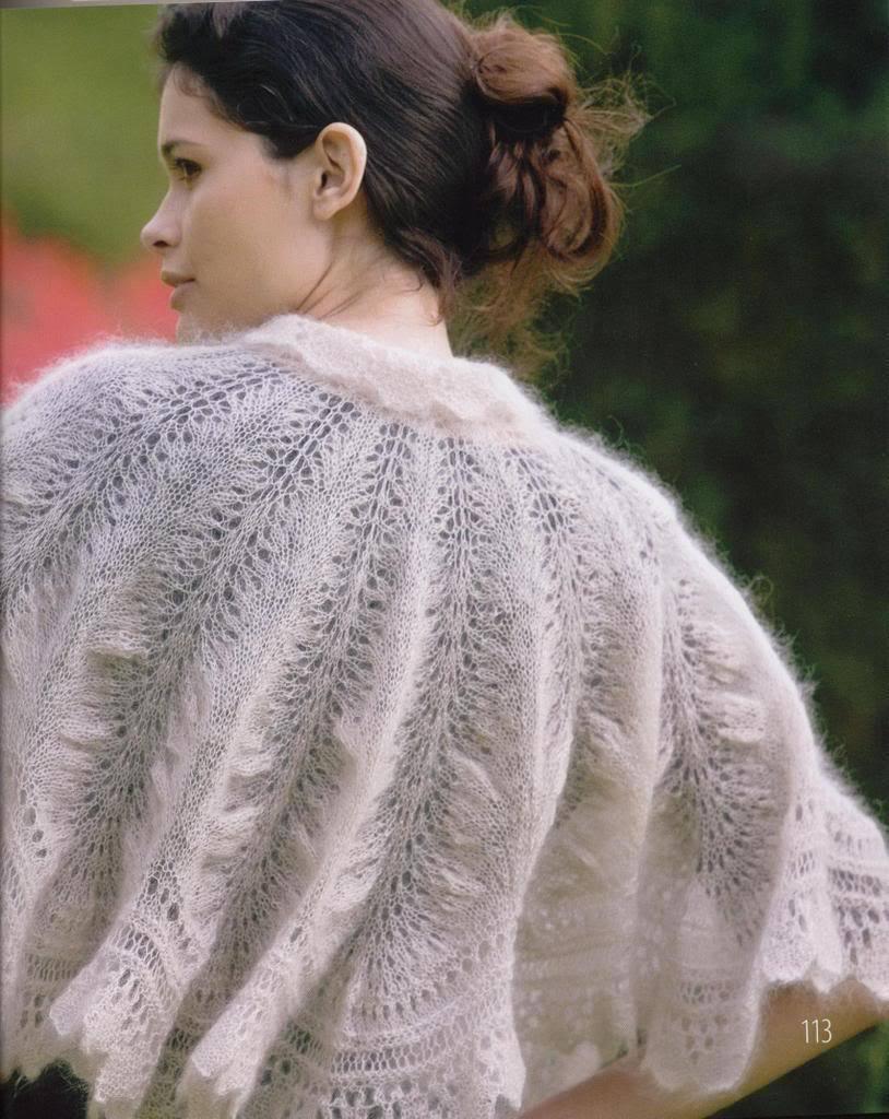 moherovii-platok Спицами вязание косынок. Как связать косынку спицами: стильный предмет гардероба без лишних усилий