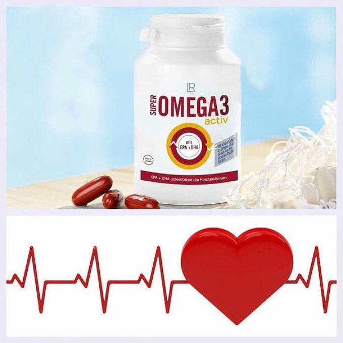 Омега-3 необходимы для нормальной работы сердечно-сосудистой системы.