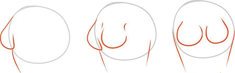 044cb64b07a323402c11cffb5b903fd0 Как нарисовать женское тело карандашом поэтапно || Как нарисовать женскую грудь мастер с описанием