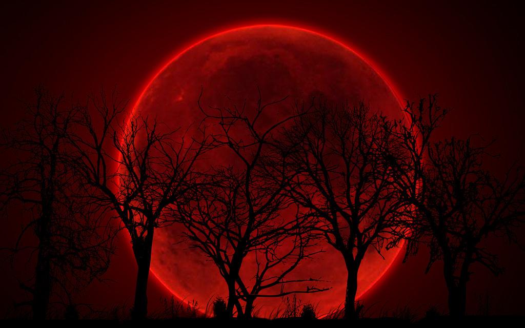 Приметы на красную луну