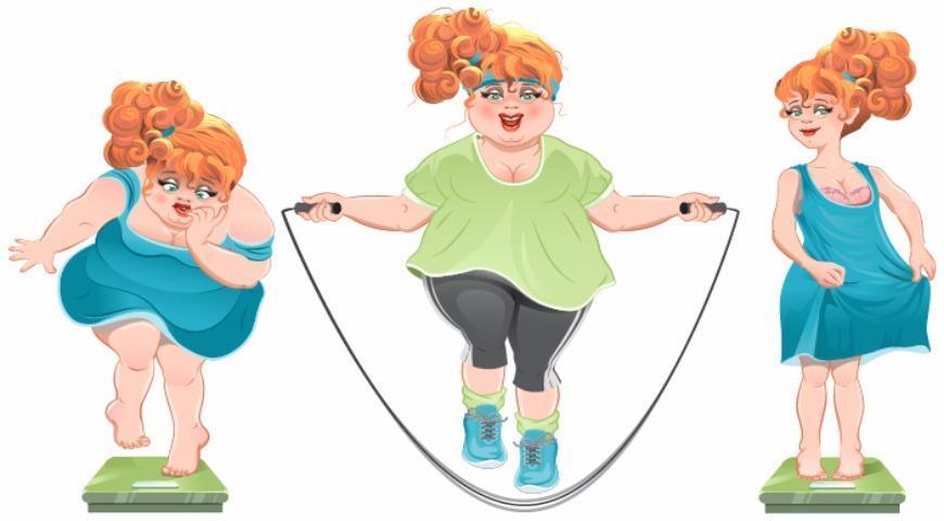 Похудение со спортом
