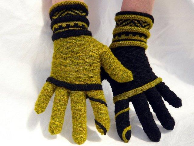 вязание перчаток спицами для начинающих простой способ как вязать