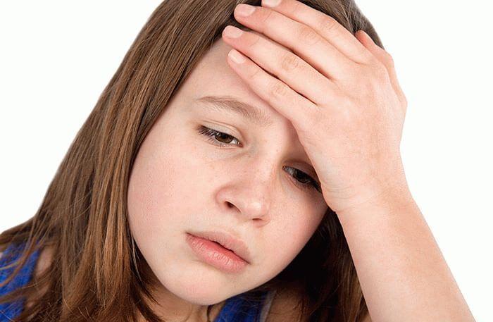 Почему болит правый и левый висок головы у детей?