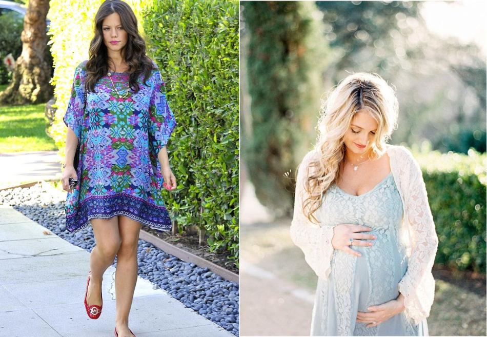 Оригинальные платья для беременных