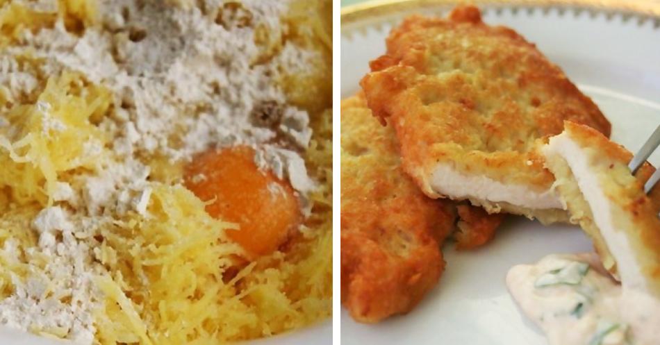 Филе рыбы в кляре с картофелем