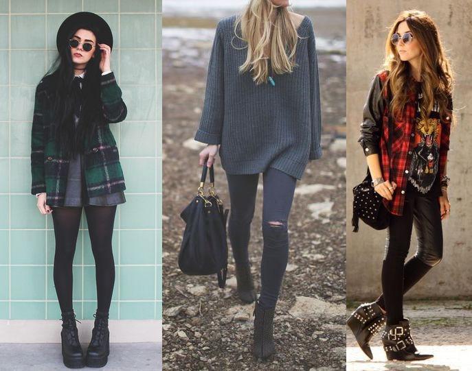 Выбирайте длинные кофты и темный цвет
