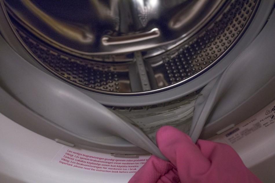Чистка резинки в стиральной машине