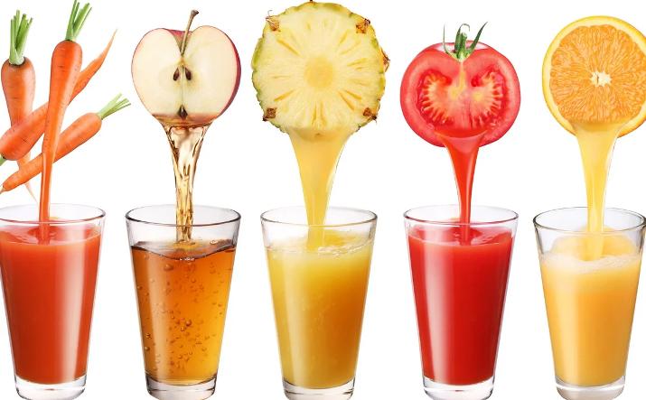 Соки свежих фруктов и овощей для лечения селезенки