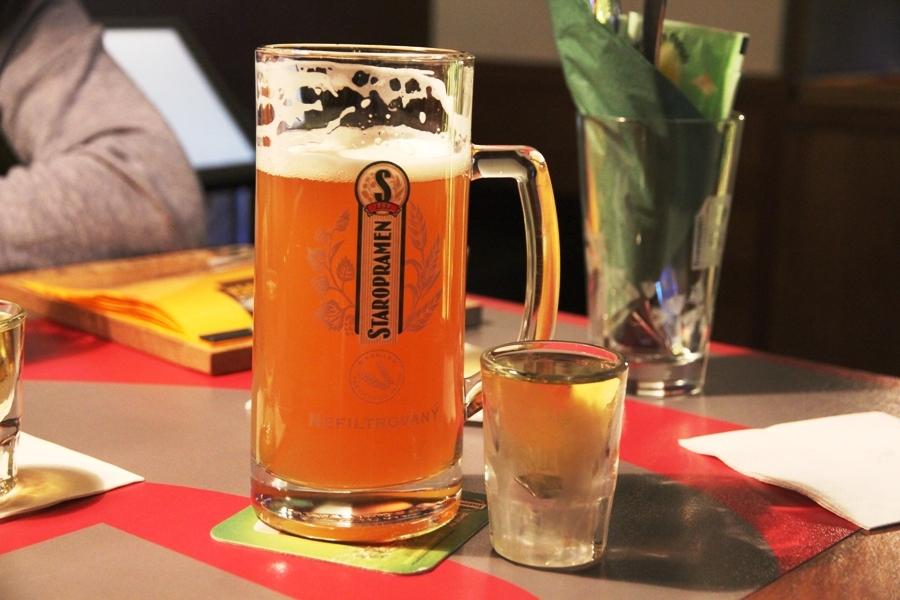 Что вреднее для желудка пиво или водка