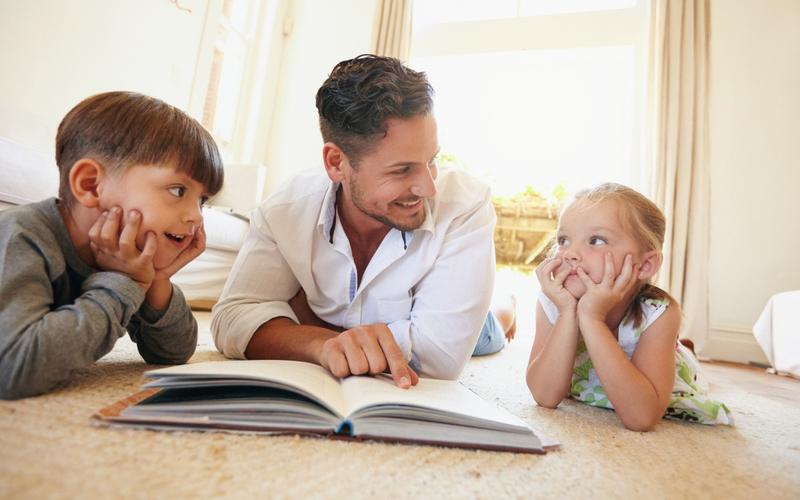 Учить важно как с малышами, так и постарше