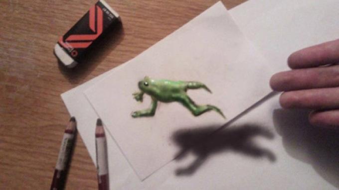 superrealistichnie-kartinki Как нарисовать 3д (3d) рисунок на бумаге карандашом