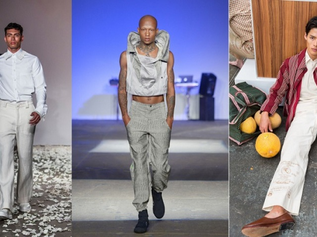 3e4fb6a4137 Мужская уличная мода весна-лето-осень 2019 года  новые тенденции ...