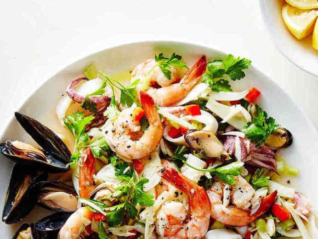 морской коктейль диетические рецепты