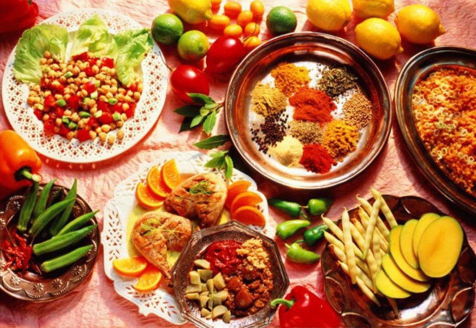 Обеденный стол вегетарианца