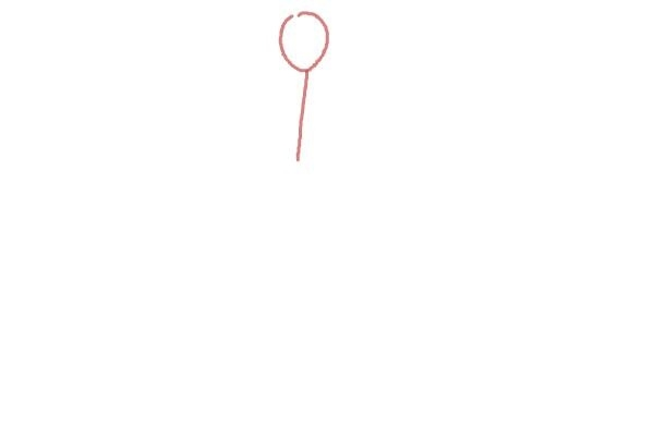 prostoi-risunok-zhenshini-v-odezhde-shag-1 Как рисовать ноги человека? Подробно рассмотрим строение и технику рисования