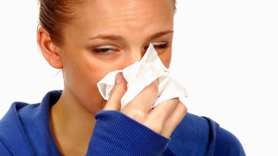 Симптомы насморка