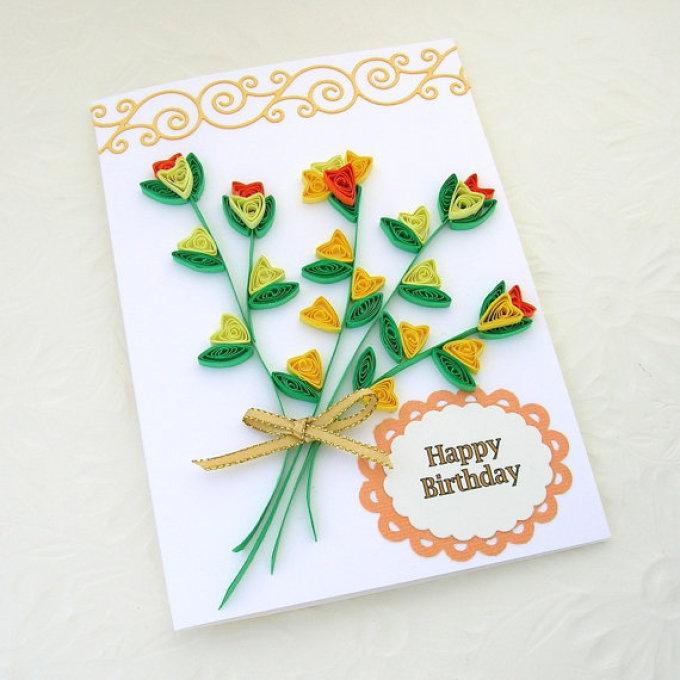 Поздравления днем, осенняя открытка с днем рождения своими руками бабушке