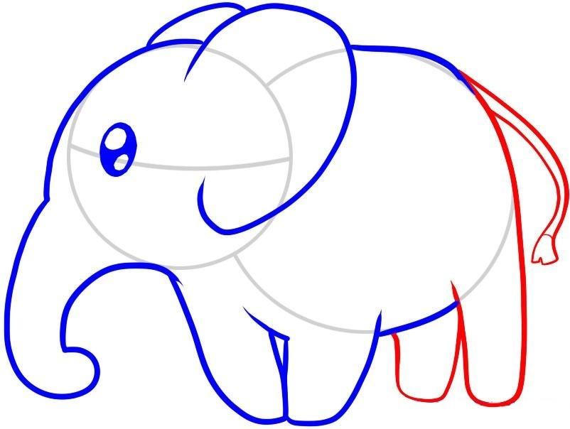 смотреть картинки как нарисовать слона вас рецепты пирогов