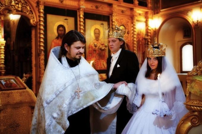 Обряд венчания по православным обычаям