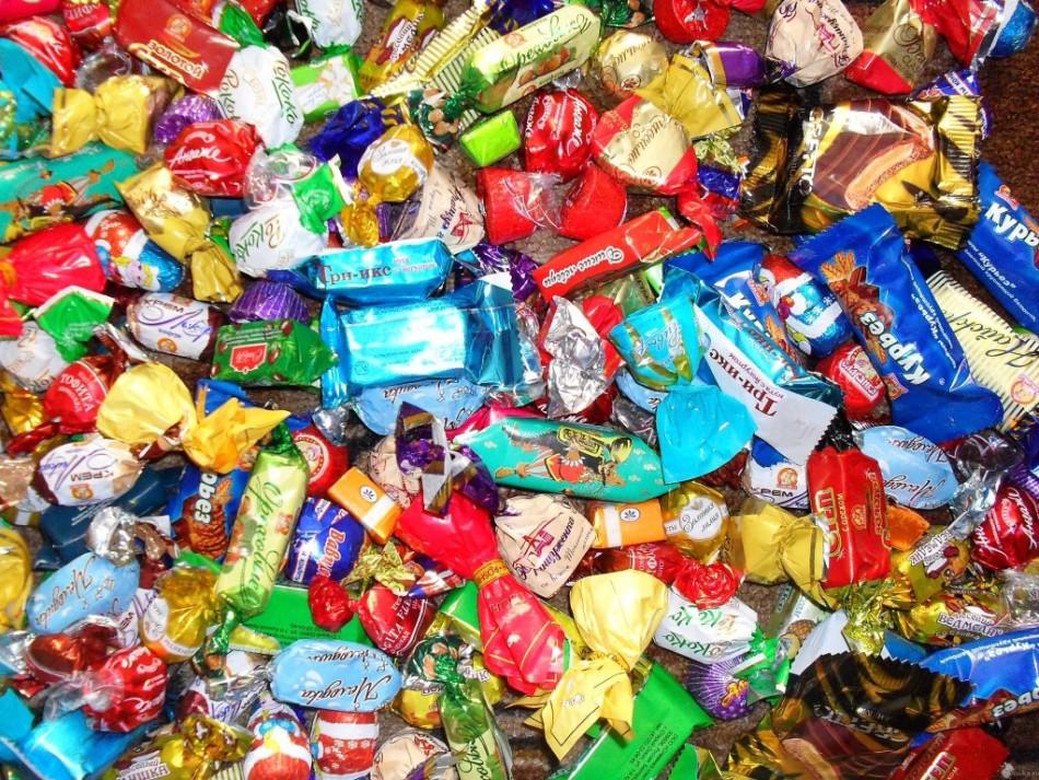 Калорийность самых популярных видов конфет