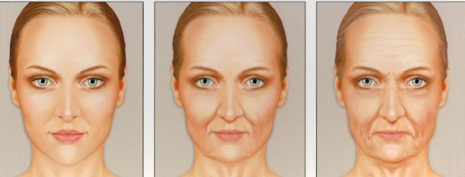 Этапы старения кожи на лице