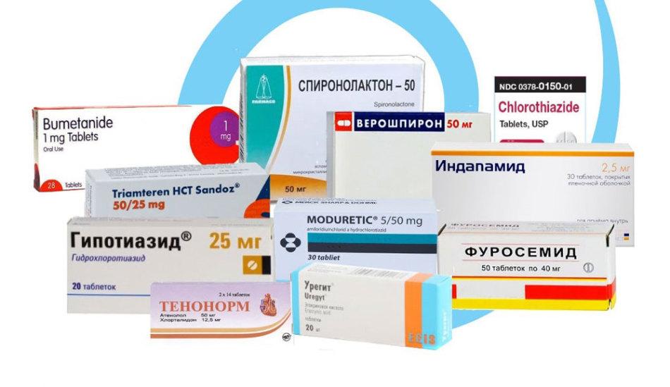 Мочегонные таблетки