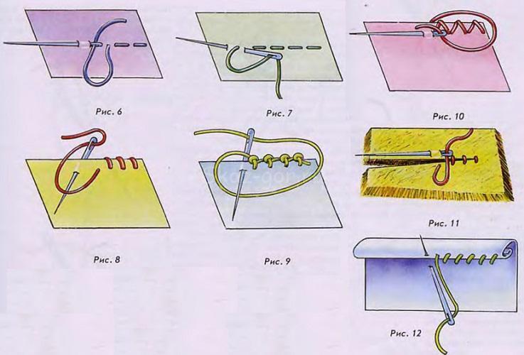 shvi-dlya-izgotovleniya-zakladki-iz-fetra Закладка-уголок из бумаги для книг (оригами): как сделать своими руками