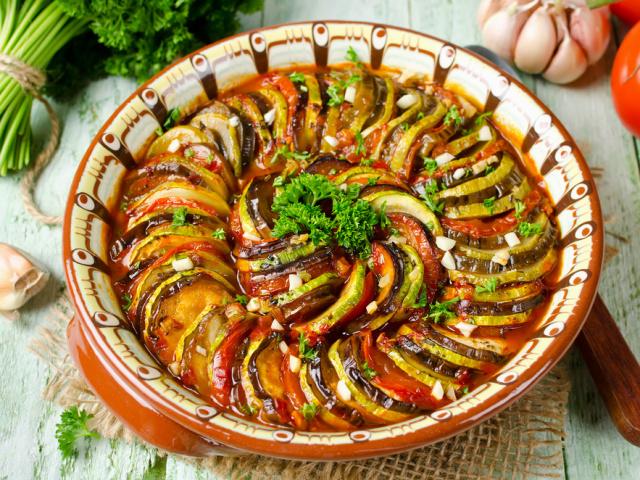 кабачки и баклажаны в духовке рецепты с фото