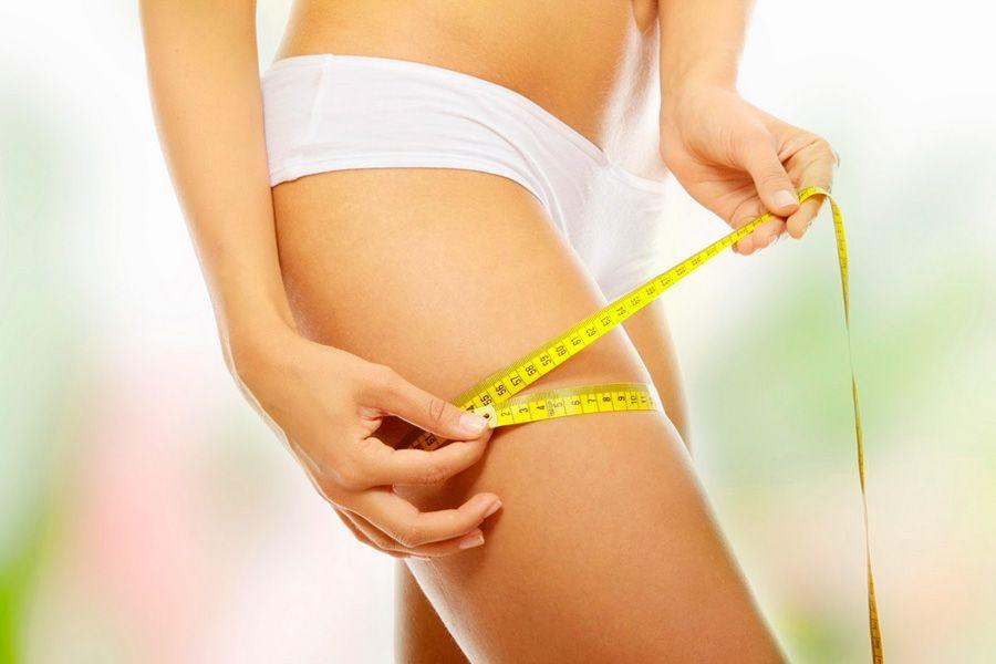 Похудение в бедрах без диет