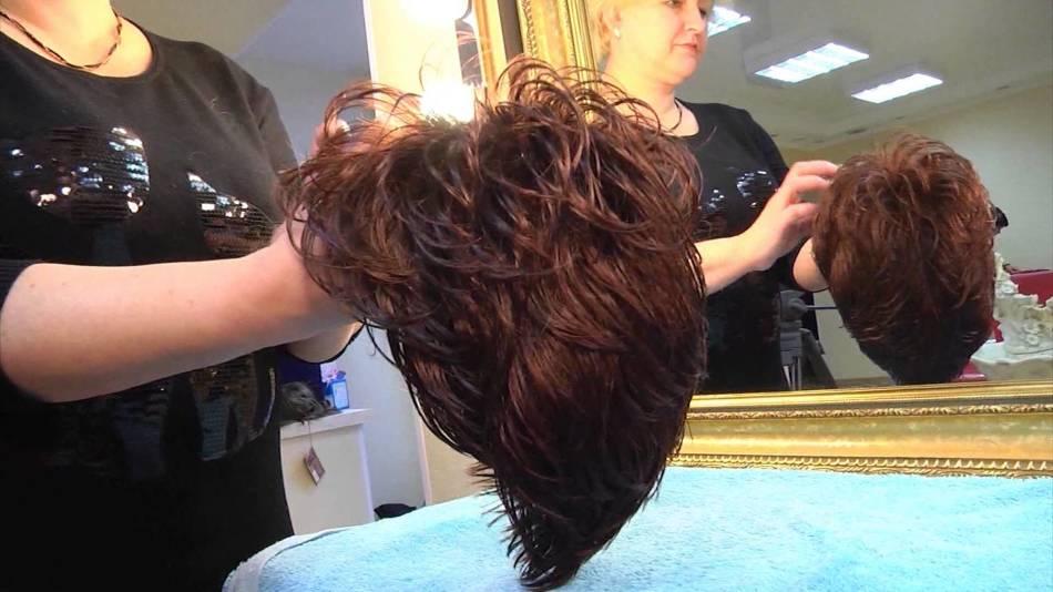Стирка парика
