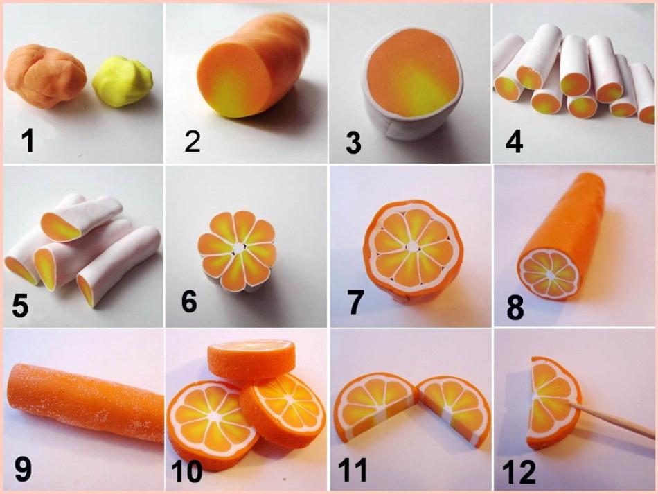 lomtiki-apelsina Что можно сделать из глины (фото)