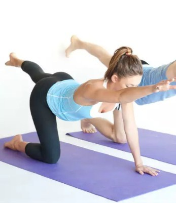 Упражнение на коленках
