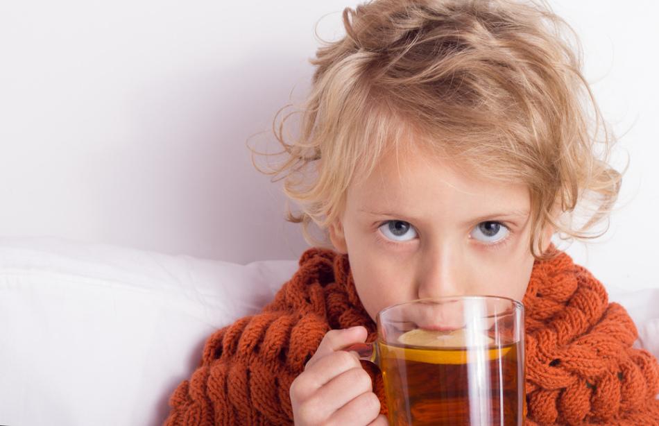 Помощь ребенку при простуде