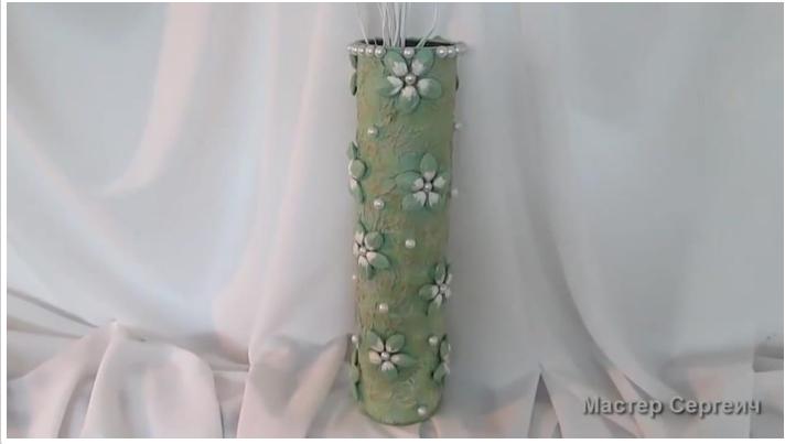 Готовая ваза