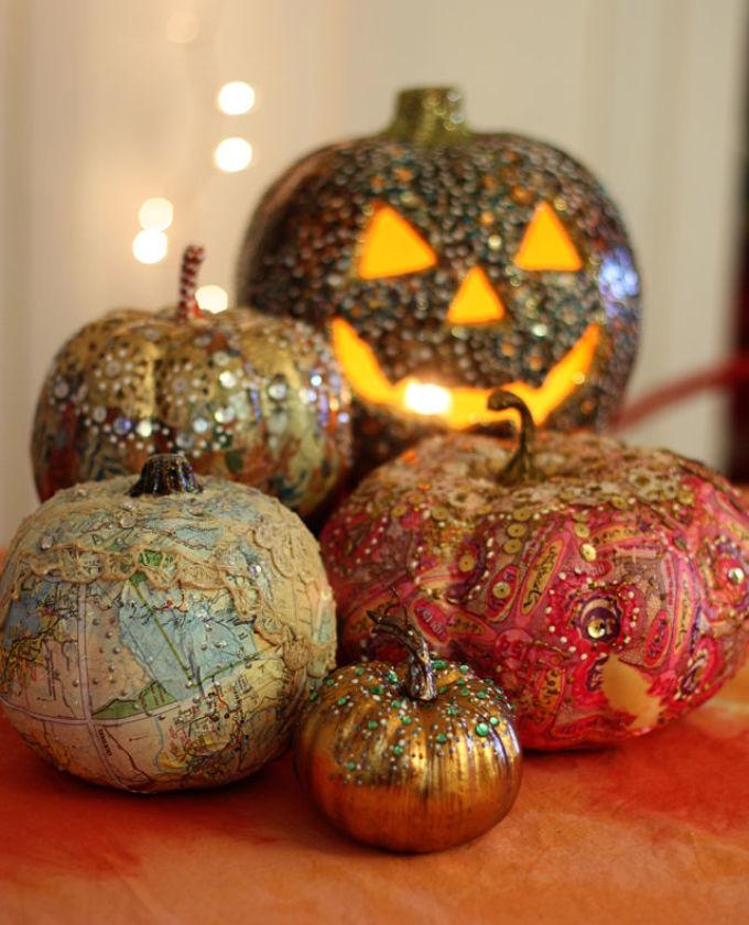 blestyashaya-tikva Осенние поделки из тыквы своими руками: 12 красивых и оригинальных поделок из тыквы для детского сада и школы