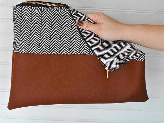 a906a71b59ab Клатч своими руками - сумки из кожи, выкройки, фото | 1mmtt.ru