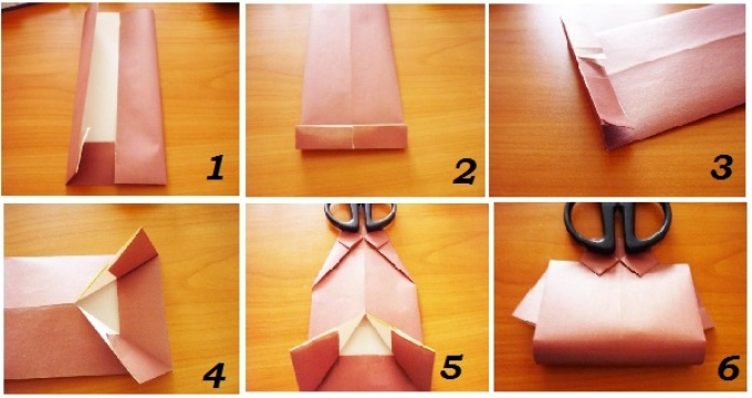 shema-upakovki-rubashki Как упаковать подарок своими руками