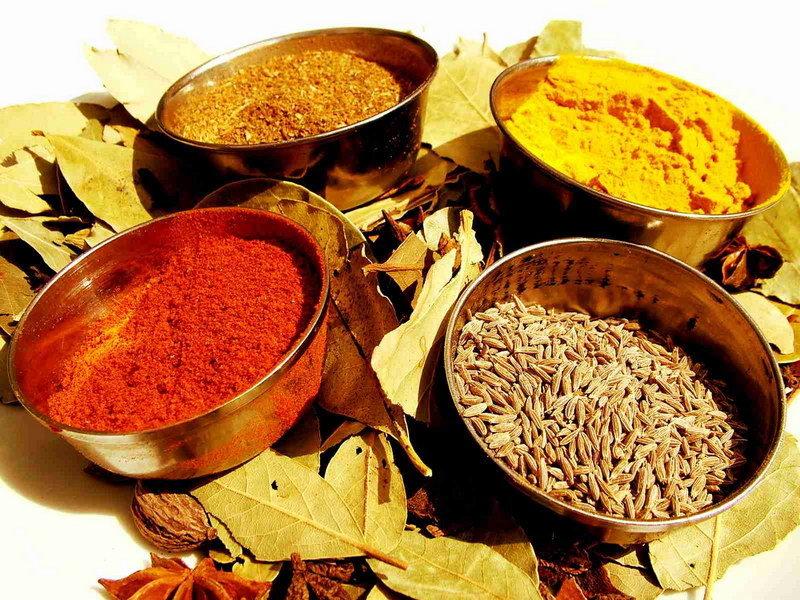 Ингредиенты для приправы карри