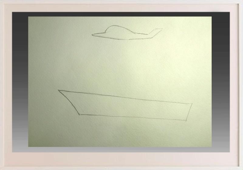izobrazim-v-nebe-samolet Как нарисовать праздничный Парад военных кораблей на Параде Победы? Как нарисовать военный корабль карандашом и красками для ребенка поэтапно?    Класс Рисуем корабль в рукодельной энциклопедии Pro100hobbi